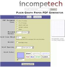 Grid Paper Pdf Graphpaper Make Your Own Graph Paper Online