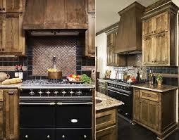Under Cabinet Molding Kitchen Copper Backsplash With Gas Range Stove Also Marble