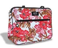gigi hill makeup bag cosmetic jayne high tea flower design