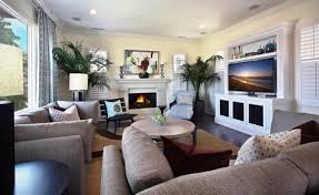 small living room ideas with corner fireplace tv above bath
