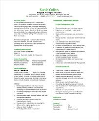 resume same sample resume 9 examples in pdf word