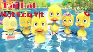 Một Con Vịt-Chú ếch Con-Liên khúc nhạc thiếu nhi vui nhộn - YouTube
