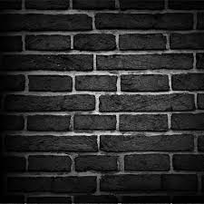 black brick texture. Brick Texture Background Free Vector Black
