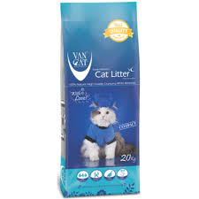 <b>Van Cat</b> White Compact Clumping <b>Natural</b> 20Kg-PACK OF 3