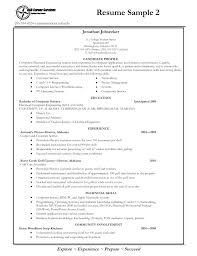 Student Job Resume Examples Resume Examples For Students Job Resume ...