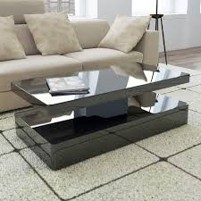 high gloss black coffee table with led lighting tiffany range tiff008 high gloss black coffee table with led lighting