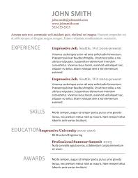 Free Resume Templates Wordpad Template Simple Format Copy Paste