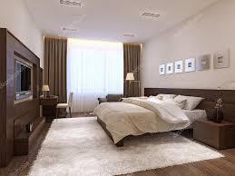 Schlafzimmer Einrichtung Im Modernen Stil Stockfoto Kuprin33