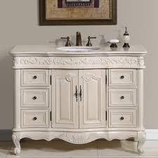 Bathroom White Vanities Bathroom Ideas Single Sink 42 Inch Bathroom Vanity With Granite
