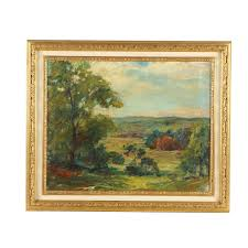 Landscape Oil Painting Attributed to Ada Belle Champlin | EBTH