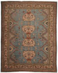 antique turkish oushak 10x13 rug 9412