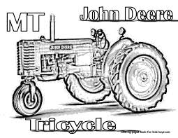 Small Picture John Deere Tractor Coloring Pages John Deere Tractor Coloring
