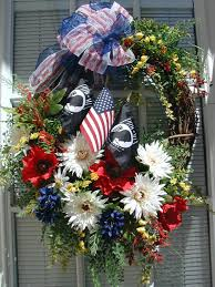 patriotic wreaths for front doorWreath USA 4th of July Day and Other Patriotic Door Decorations