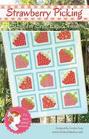 Strawberry Picking Quilt Pattern It's Sew Emma #ISE-161 | It's Sew ... & Hover to zoom Adamdwight.com