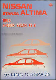 nissan stanza service manuals shop owner maintenance and 1993 nissan stanza altima wiring diagram manual original