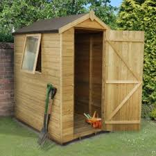 cheap garden sheds. 6\u0027x4\u0027 (1.8x1.2m) Forest Pressure Treated Tongue \u0026 Grooved Cheap Garden Sheds D