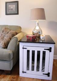 dog kennel coffee table plans look here element 3