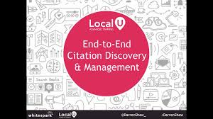 Presentation End To End Citation Discovery And Management Whitespark