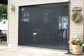 retractable garage door screen cost elegant retractable garage screen for double and single garages stoett