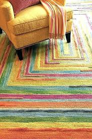 multi colored rugs bright area rug amazing home interior design throughout orange bath