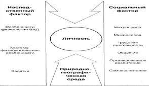 Реферат Личность как субъект и продукт социальных отношений  Рисунок 1 Факторы формирования личности
