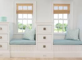 window chair furniture. stunning window bench seat cushion ideas blue pattern fabric beige rattan blinds white chair furniture s