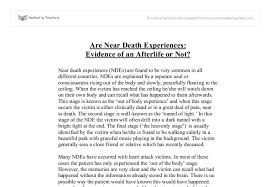death experience essay near death experience essay