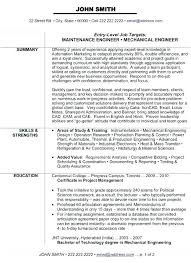 Plant Engineer Resumes A Power Resume Format Plant Engineer Proper Example Simple Sample