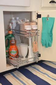 Under The Kitchen Sink Storage Creative Ideas For Under Kitchen Sink Storage Frozed Glass Front