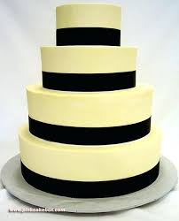 Wedding Cake With Red Roses And Ribbon Square Black And White