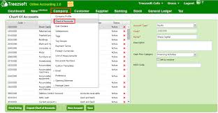 Gst How To View Gst Related Account Code And Gst Code In