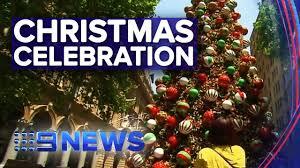 9news Christmas Lights Festive Season Kicks Off In Sydney Nine News Australia
