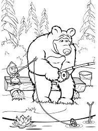 Disegni Di Masha E Orso Da Colorare Masha E Orso