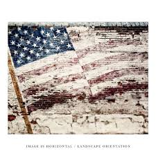 american flag rustic wall art home