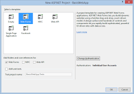 Creating a Basic ASP.NET 4.5 Web Forms Page in Visual Studio 2013 ...