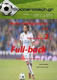 position soccer training full back