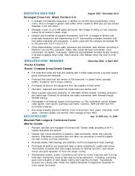 Sous Chef Resumes Chef Resume Templates Pizza Chef Resume