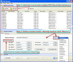 How To Rename Multiple Pdf Files Simultaneously A Pdf Com