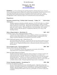 Resume Samples For Executive Directors Of Nonprofits New Download