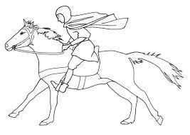 Kleurplaat Playmobil Paarden Country Ausmalbild Cowboys Indianer