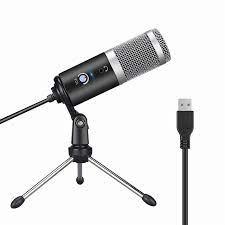 Usb kondenser mikrofon bilgisayar mikrofon Youtube Podcast kayıt cihazı  oyun canlı ses sohbet mikrofon