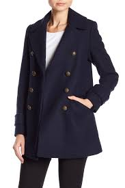 image of french connection military peacoat