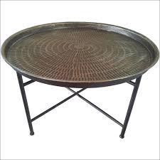 cute hammered copper coffee table 9 remarkable design