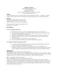 Lists Of Skills For Resume Computer Proficiency Resume Skills