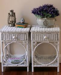 lilyfield life custom painted furniture sydney these vintage wicker bedside tables