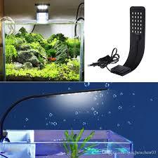 Attractive Großhandel Schlanke LED Aquarium Licht Beleuchtung Pflanzen Wachsen Licht  10W Wasserpflanze Beleuchtung Wasserdichte Clip On Lampe Für Aquarium EU  Stecker ...