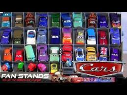 Disney Cars Fan Stand Display Case Cars 100 Fan Stands Play n Display Storage Case Launcher Stand 13