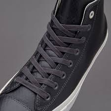 converse 2 mens. mens shoes - converse chuck taylor all star ii hi mesh backed leather black 2