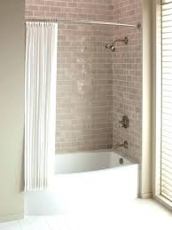 fiberglass tub shower inspiring corner tub shower combo ideas modern white fiberglass bathtub which decorated install fiberglass tub shower