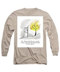 Burning Bush Size Chart The Burning Bush Long Sleeve T Shirt